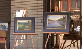 Artists Gather for Plein Air Competition in Downtown Evansville