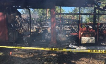 Fire Destroys Home in Posey County