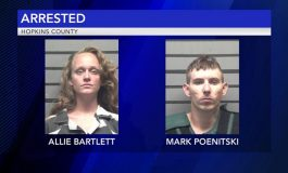 Madisonville Police Make Two Arrests Following Pursuit