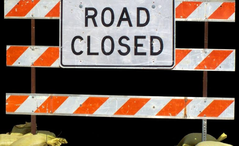 State Road 64 Between County Road 725 and Interstate 69 Closed