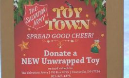 Salvation Army Kicks Off Christmas Campaign