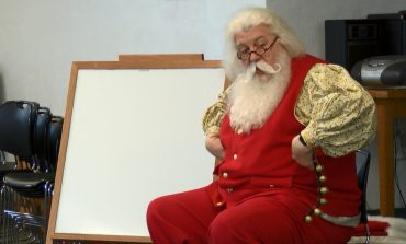Santa Claus Brings Cheer To Families At Evansville Public Libraries