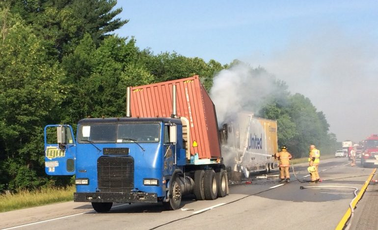 Accident Involving Two Semis Closes Eastbound Lanes Of I-64 In Warrick County