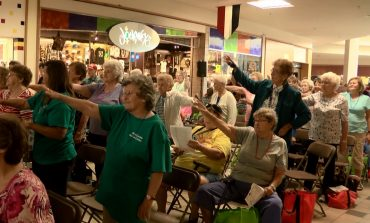 Senior Citizens Fill Town Square Mall for Senior Day Out
