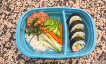 2 Minute Cooking Class: Sushi Bowl