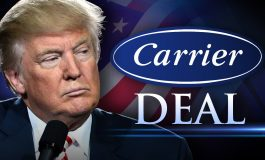 "Carrier Workers Head to D.C. as a ""Thank You"" to Trump"