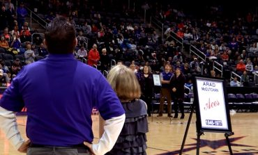 UE Men's Basketball Beats Drake, Honors 8 Legends
