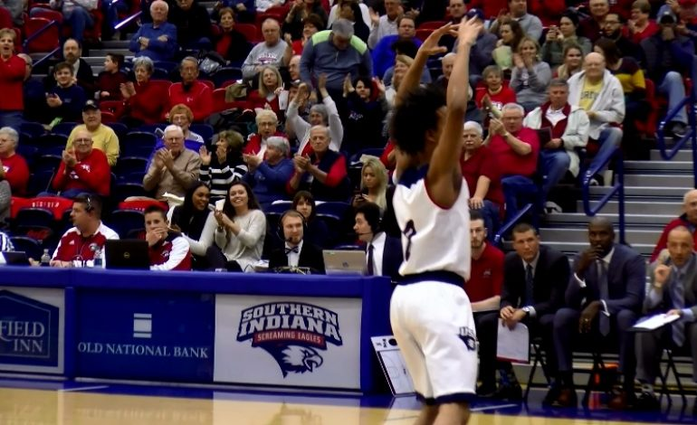 USI Men Take Care of U-Indy at Home