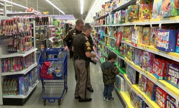 Members Of The Sheriff's Office Grant Wishes For Annual Christmas With The Kids Event