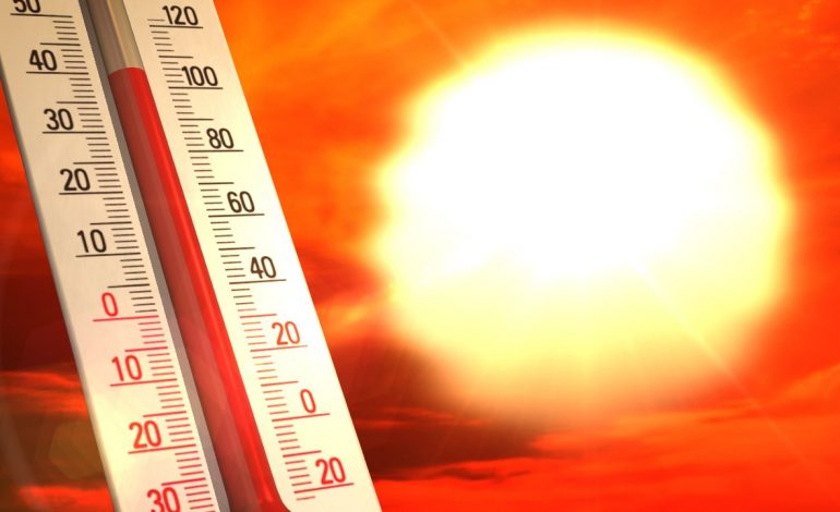 Record Heat In An Impressive Stretch of Summery Weather In May