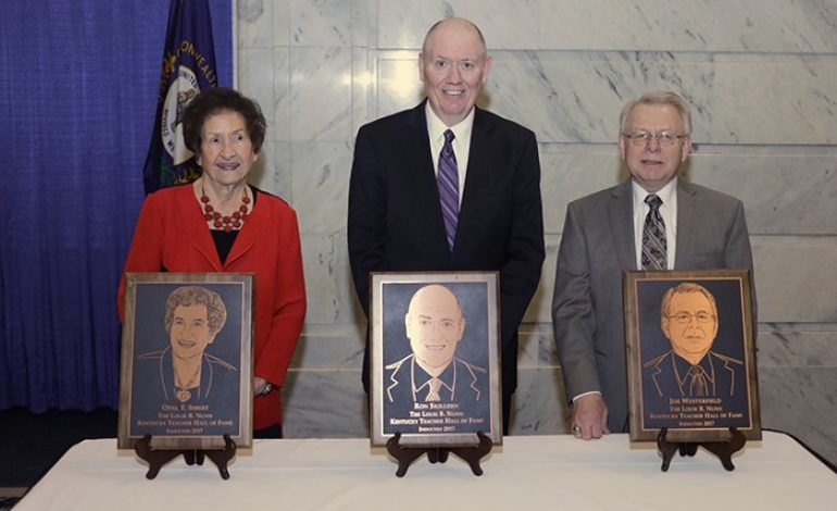 Daviess County Teacher Inducted into Kentucky Hall of Fame