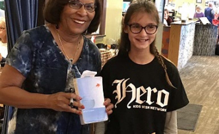 Evansville Child with Life-Threatening Illness Spends Day with Favorite Author