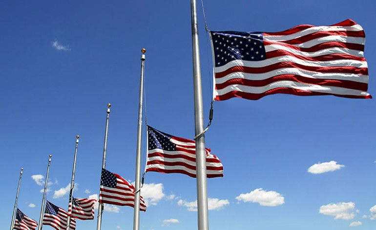 Flags Ordered At Half Staff In Remembrance Of Pearl Harbor