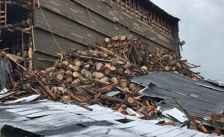 Cleanup Continues After Distillery Warehouse Collapse