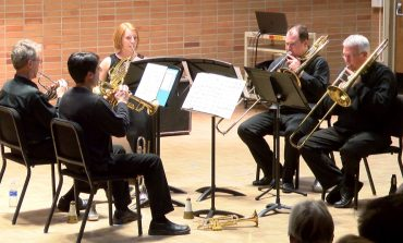 University of Evansville Hosts their Annual Brass and Percussion Day
