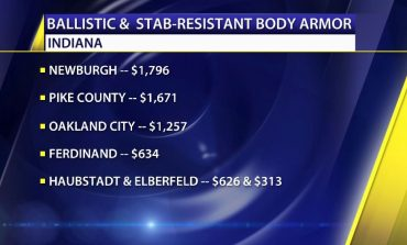Nearly $30,000 Awarded To 11 Tri-State Police Agencies To Help Buy Body Armor