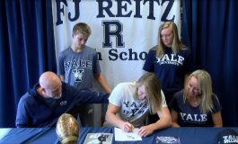 Reitz's Isaiah Dunham Signs with Yale Football