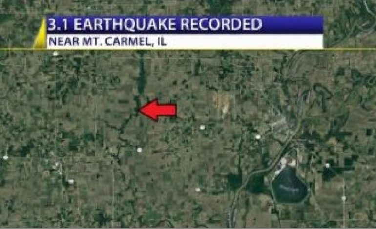 Earthquake Recorded near Illinois