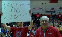 Bosse Wins City, Raises Thousands for Long-Time Equipment Manager