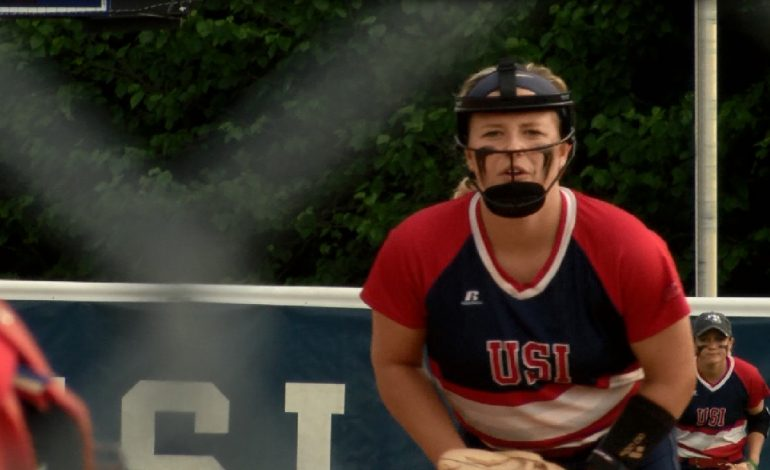 USI's Jennifer Leonhardt is a Finalist for Freshman of Year