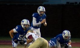 Cousins Lindauer and Combs Lead Memorial Football to Dominance