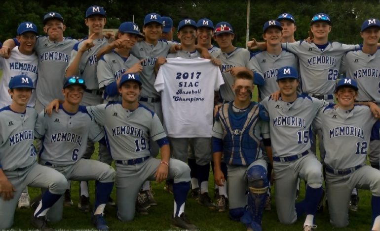 No. 5 Memorial Baseball Wins SIAC Title