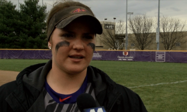 UE's Morgan Florey Pitches Shutout in Doubleheader Against Bradley