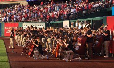North High School Orchestra Performs At Busch Stadium