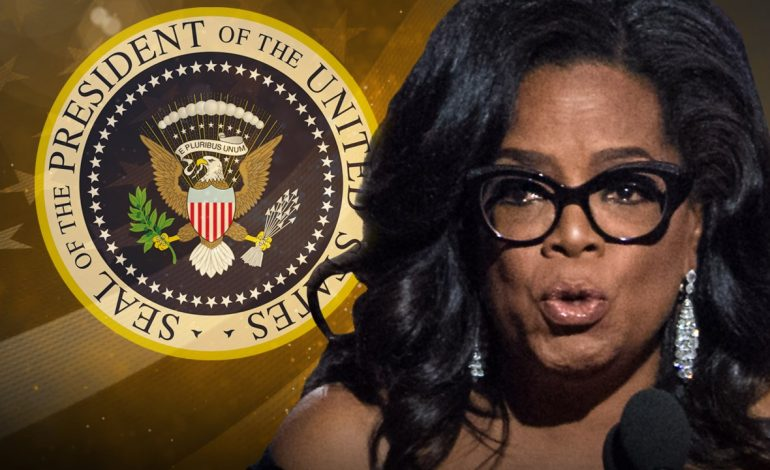 Talk of Oprah's Presidential Run Stirs Controversy