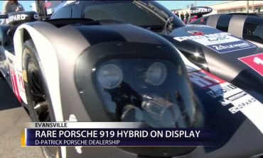 Rare Porsche 919 On Display In Evansville