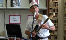 Henderson County Public Library Entertained By A Member Of The World's First Rock N' Roll Band