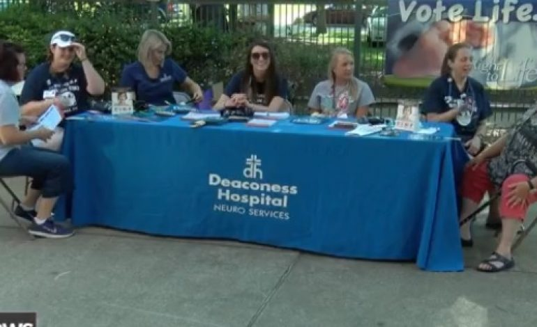 Deaconess and Evansville Otters Host 'Strike Out Stroke' Before Game