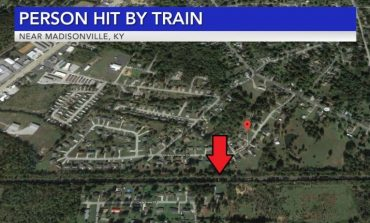One Person Hit by Train in Madisonville