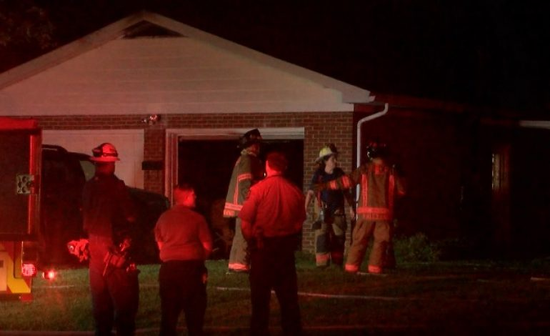 Family Escapes Overnight House Fire