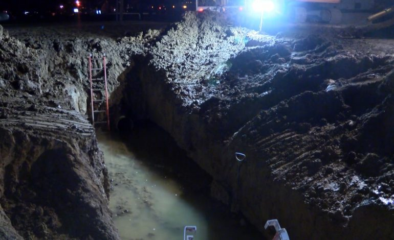 Businesses Take Precautionary Measures After Water Main Break