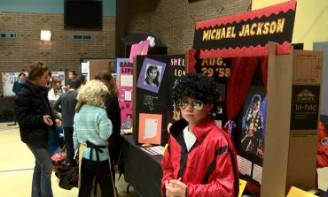 Students Transform into Famous Faces for Annual Living Wax Museum