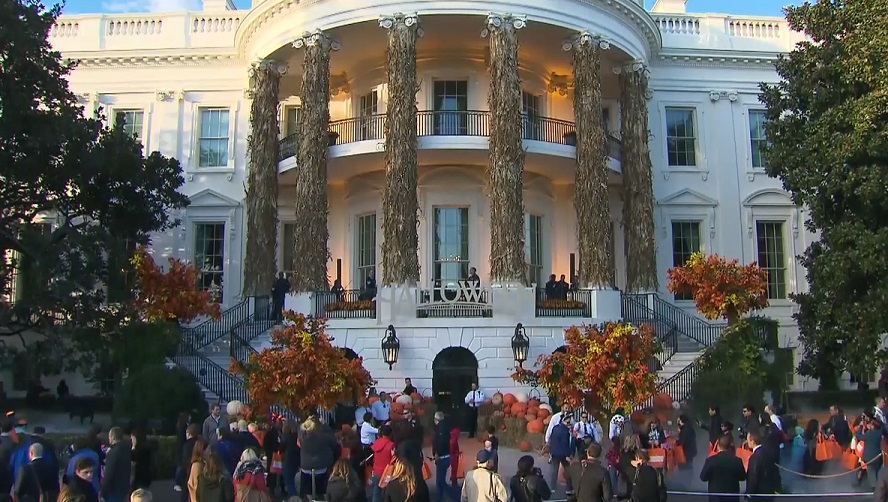 The White House Celebrates Halloween With A Costume Party