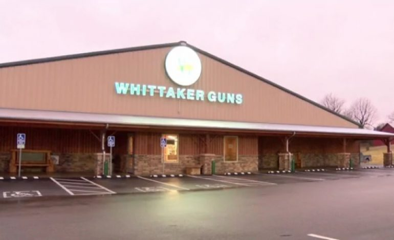 Suspect Arrested in Connection to Burglary at Whittakers Guns